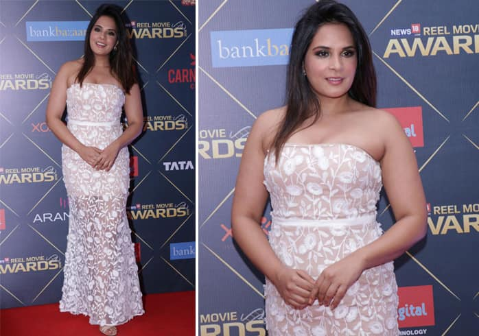 Richa Chadda in White dress